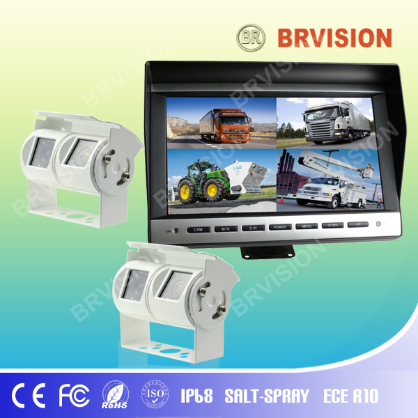 reversing camera with 10 inch digital panel for truck
