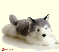 customized OEM design stuffed huskie