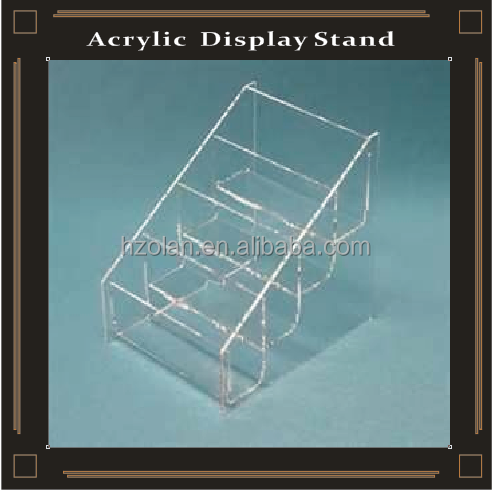 acrylic makeup display shelves household stand 4 tiers cosmetic lipstick plastic rack free standing