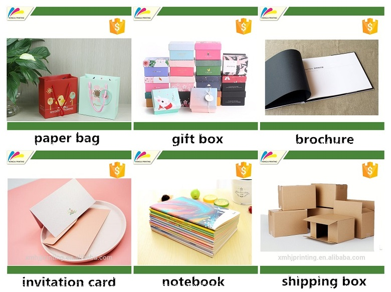 Factory wholesale exquisite paper gift bag with handle and logo printing