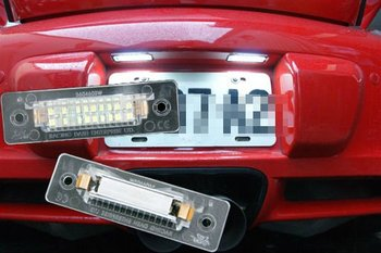 LED license plate lamp for Porsche 968 911 Carrera Boxster Turbo GT2 GT3