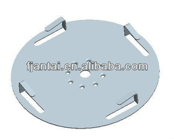 Bearing Plate for Clamp with cable clip