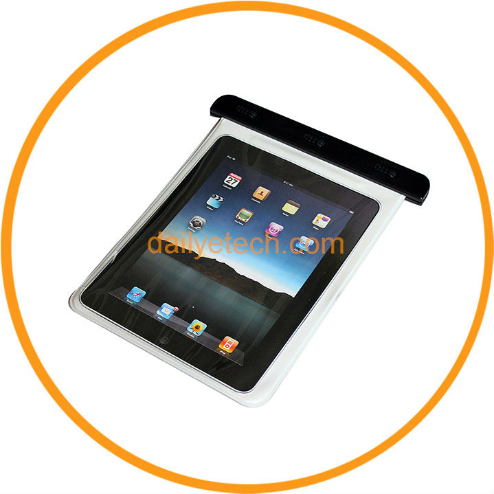 Waterproof and Shockproof Tablet Cases for iPad 3 2 White from Dailyetech CE ROHS IPX8 Certificate