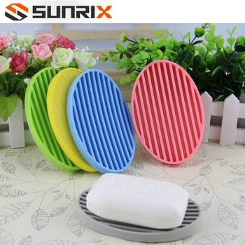 Oval Shape Silicone Soap Saver