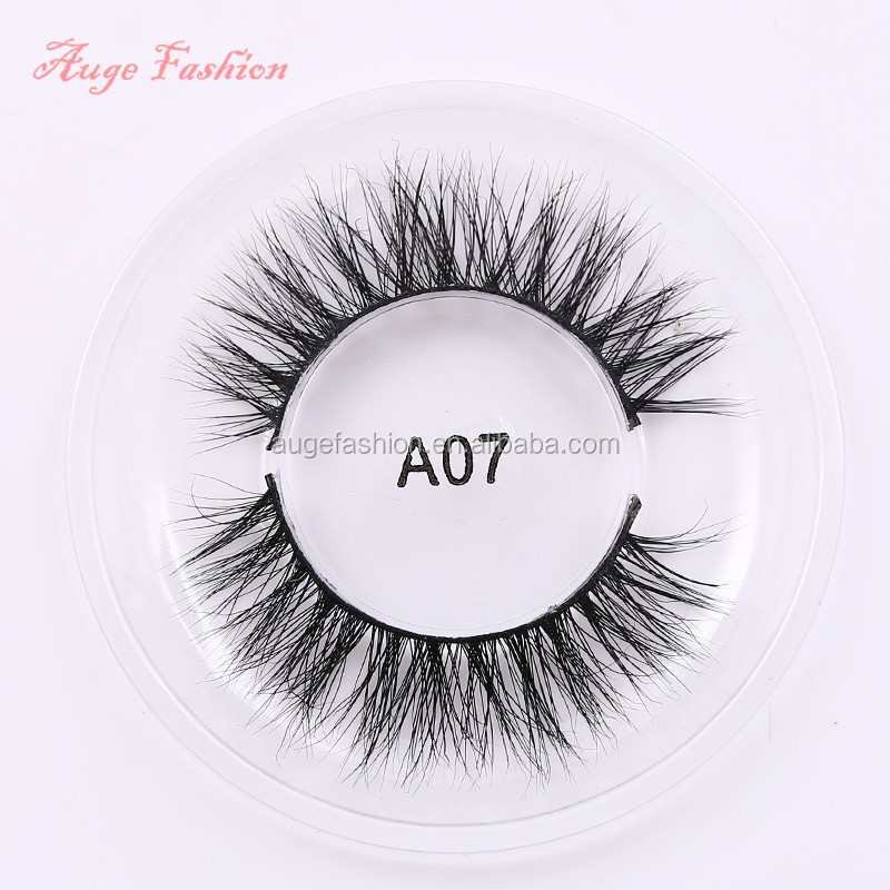 100% real Siberian mink hair hot sales charming 3d false vegan eyelashes custom eyelash packing own brand eyelash custom service