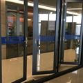 Hot sell aluminium commercial system folding storm door with Australia AS2047 AWA standard