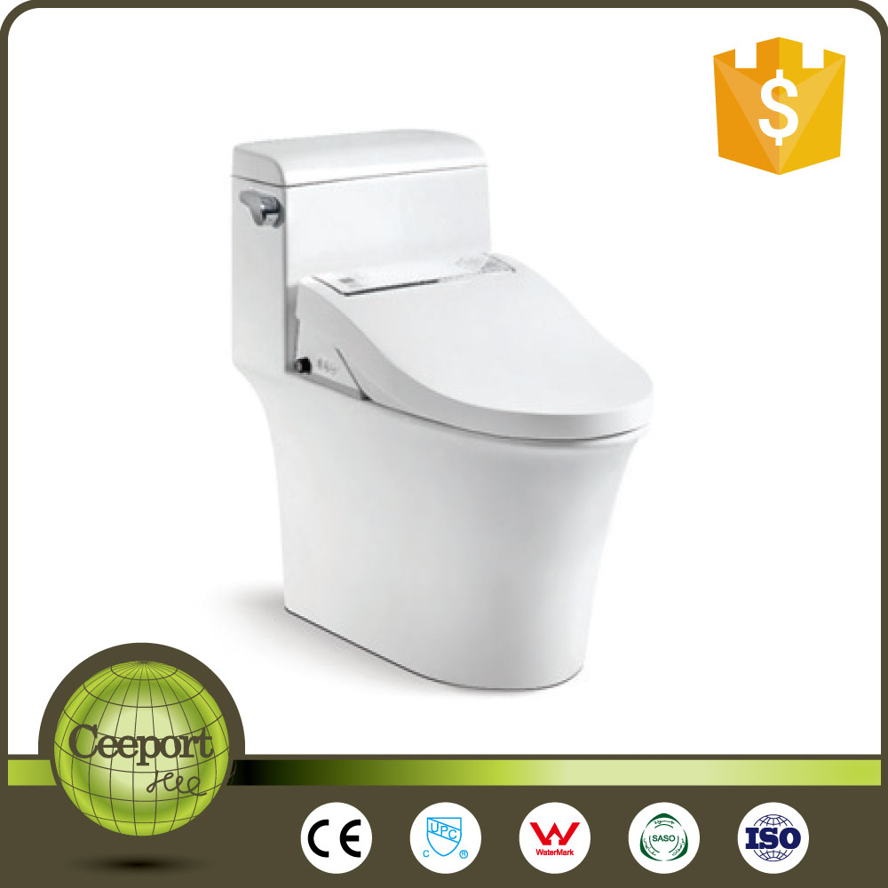 2017 hot sale modern design sensor seat smart electric bidet toilet