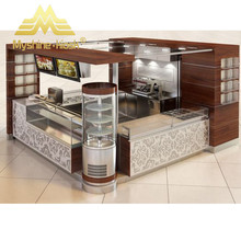 New design fruit juice bar kiosk bubble tea counter for sale