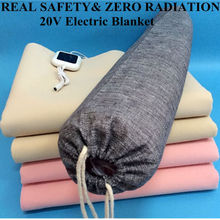 PTC material luxury 20V Flame Retardant Polyester Small Electric Heating Under blanket