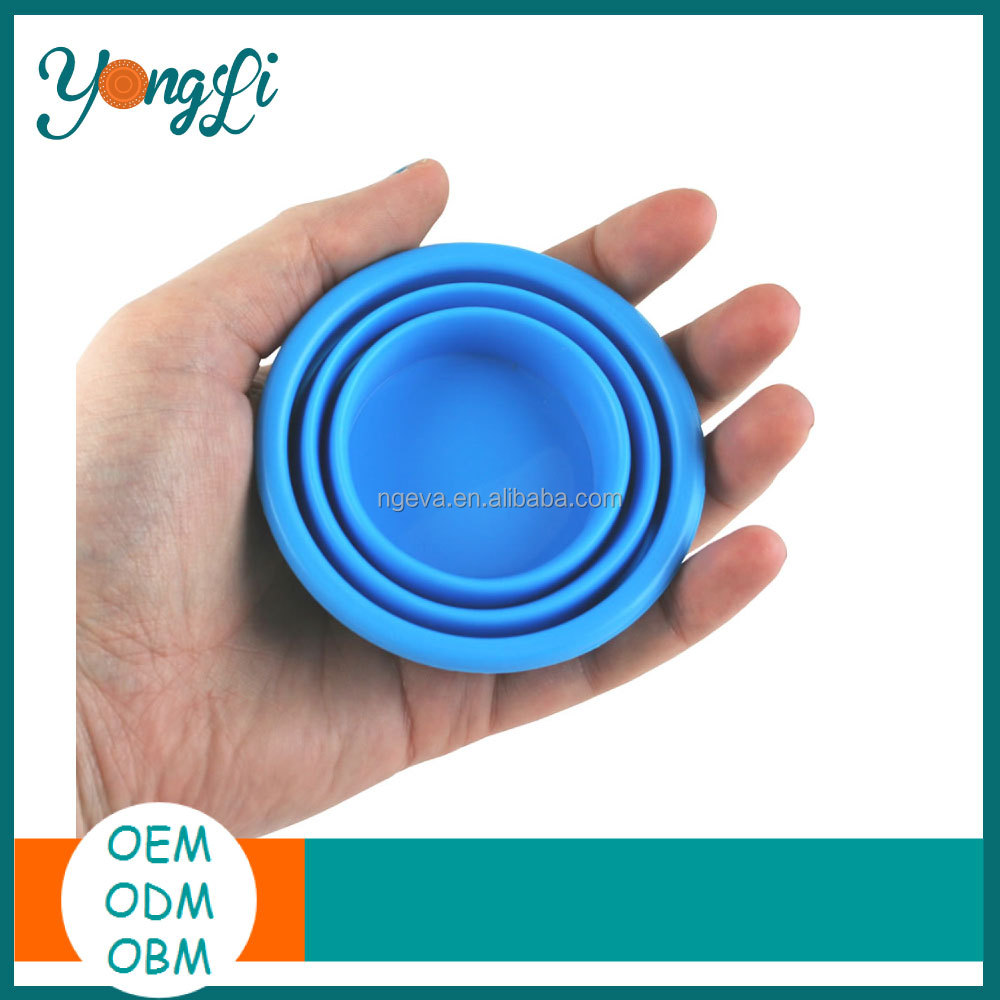 Promotion Folding Silicone Rubber Tea Cup Cover