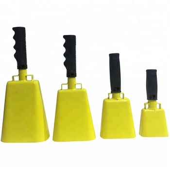 Custom promotional cowbells for sporting events promotional product