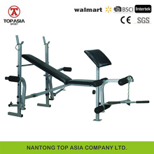 Hot sale home gym equipment adjustable weight bench