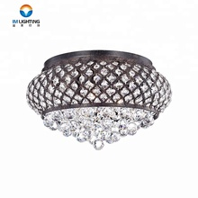 Factory price decorative crystal led ceiling lights fixtures