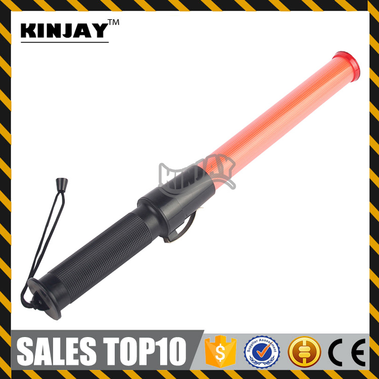 High Brightness Led Traffic Security Signal Flashing Baton Police Rechargeble Traffic Control Marshalling Torches