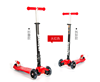 High quanlity and factory price Maxi Kick Scooter with LED Light up Wheels
