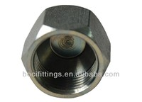 hydraulic fittings 0304C JIC CAP NUT American SAE 37 degree flared jic tube fittings