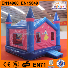 Outdoor design inflatable kids play castle