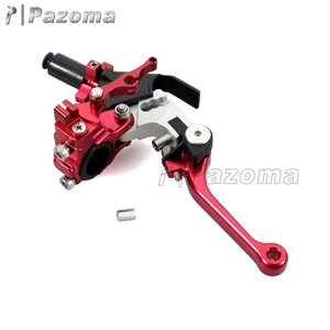 Made In China Pazoma Universal CNC Adjustable Extendable Folding Motorcycle Brake Clutch Lever For Dirt Bike Street Bike