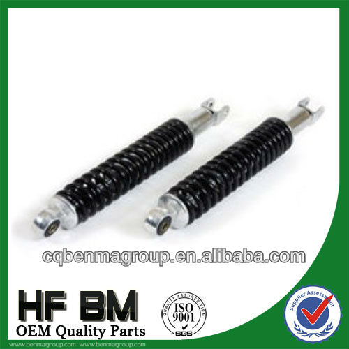 Good Performance 125cc Scooter Shock Absorber Black, Good Quality 125cc Shock Absorber for Scooter Motorcycle Parts!