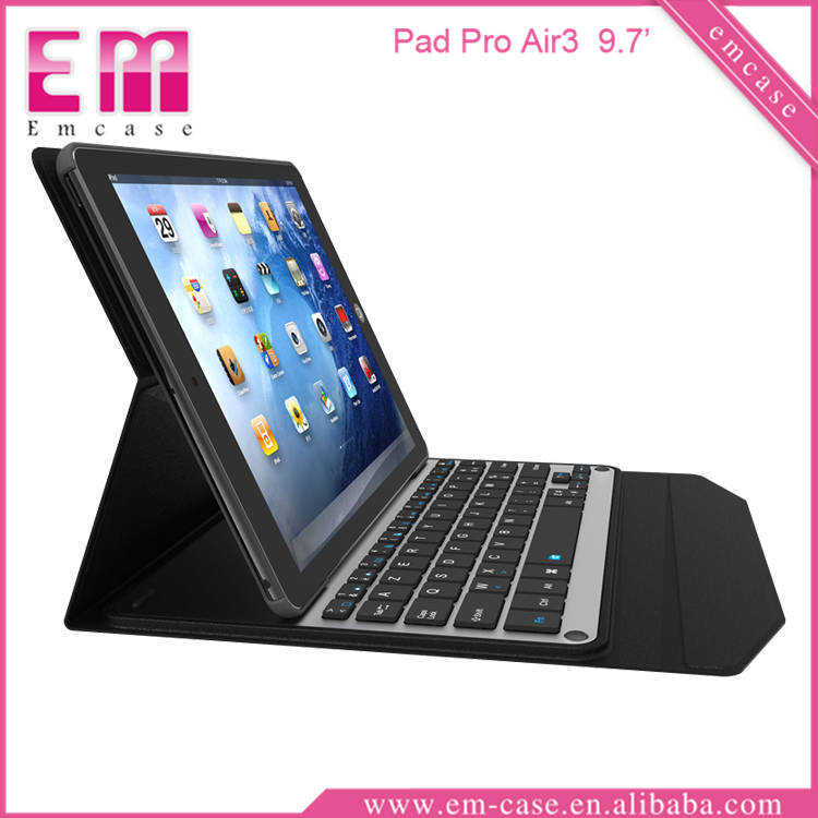 For iPad Pro 9.7 '' Ultra-thin Aluminum Bluetooth Keyboard Case