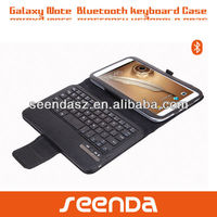 PU leather case with keyboard for samsung galaxy note 8.0 pad /tablet case