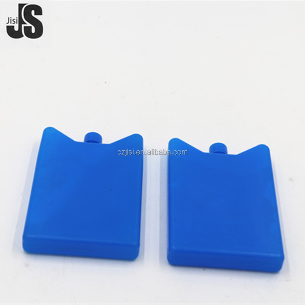 Plastic hard shell material gel cooling box for food storage