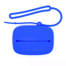 New simple and customizable promotional silicone key bag