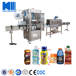 China Labeling Machine For Plastic Bottles 2 Labels China Labeling