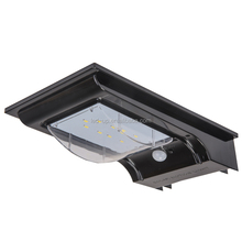 IPHD Outdoor motion sensor led solar light water proof ip65 led wall light with security lamp