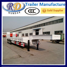 Customized Crazy Selling huayu used low bed trailer