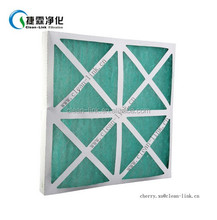 Cardboard Frame Panel Pleated Mounting Furnace Filter