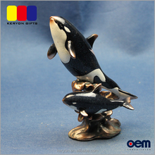 Hot Selling Whale Fish Craft Resin Animal Figurine For Sale