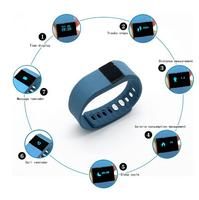 Factory Price of Smart Watch Phone! Fashion Wristband OLED Screen, Bluetooth 4.0 Smart Bracelet