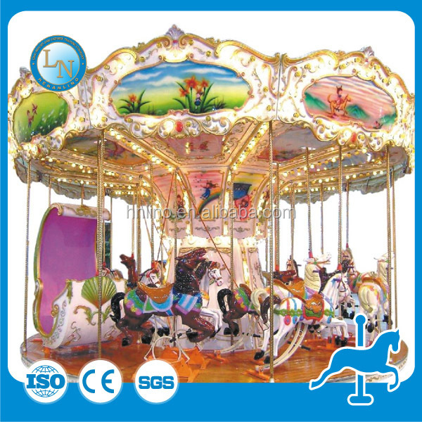 Park amusement game machine! children carousel Equipment