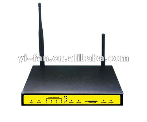 support VPN SERVER F3434-LTE industrial LTE router