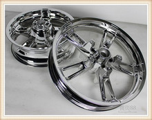 Factory price direct selling solid motorcycle 17 inch aluminum alloy wheels DY100