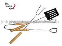 stainless steel tools type and metal type mini bbq tools