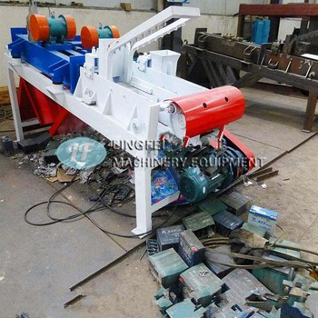 Lead acid battery breaking machine