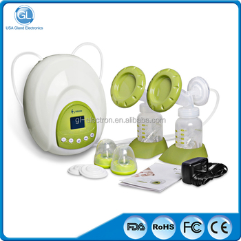 Vacuum Electric Breast Pump Double Silicone Breast Pump