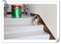 white fiber with waterproof film /paint mat/antislip foil