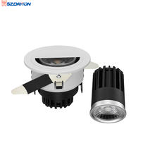 75mm Cut Fashion Shop Using LED Downlight Rotatable And Fixed Type 13W