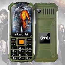 In Stock Mobile Phone Vkworld Stone V3S Quad Band Camera Waterproof Dual Sim Unlocked China Low Cost Elder Cell Phone