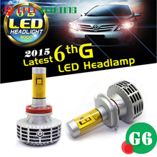 New arrival h1 car led lamp, High low beam mix led chips G6 h1 car led lamp