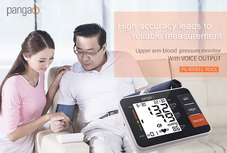 FDA Approved Automatic Digital Upper Arm Blood Pressure Monitor