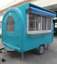 Mobile outdoor food cart trailer/fast food carts for sale/coffee cart for sale