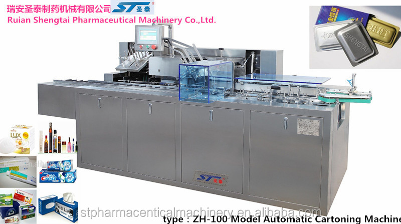 automatic pill blister carton box filling machine