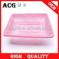 food plastic tray in food grade