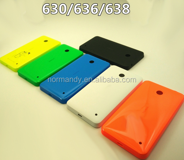 Best quality back housing for Nokia lumia 630 635 638 636 Rear battery door cover