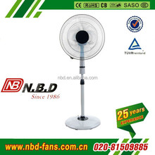 Pure white Crown stand fan