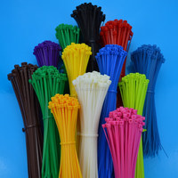 Made in China self locking multiple colored zip tie